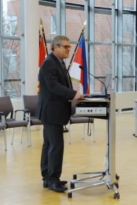 Moderator Ralf Jussen